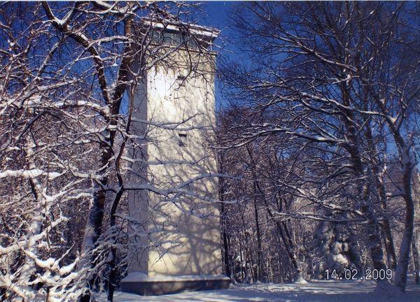 Wienhagener Turm im Winter