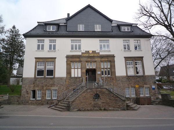 Außenansicht Altes Amtshaus/Bakelitmuseum