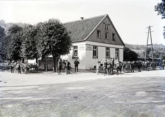 Historisches Bild Kreuzung Wildenkuhlen