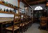 Der Gastraum in der Brauerei