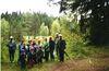 Wanderung im Hochmoor Todtenau in der Gemeinde Kirchberg i. Wald