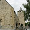 Blick auf die Pfarrkirche ST. GOTTHARD in Kirchberg i. Wald