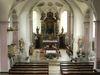 Innenraum der Pfarrkirche ST. GOTTHARD in Kirchberg i. Wald