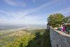 Ausblick von der Burg Teck
