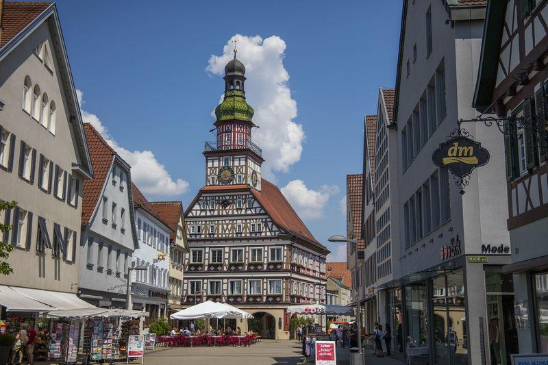 Rathaus in Kircheim unter Teck