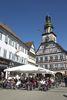Blick auf Kirchheimer Rathaus