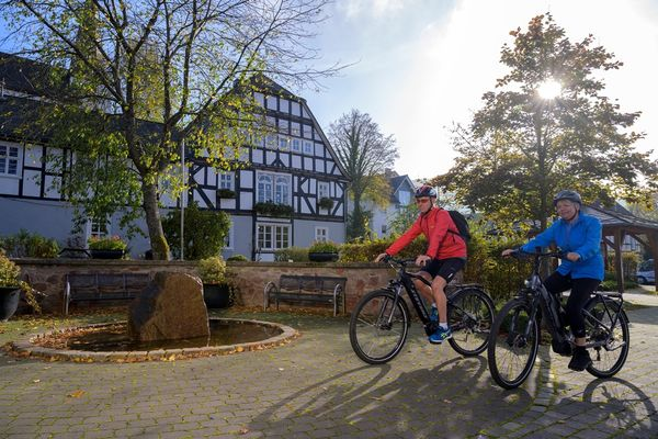 E-Bike Tour durch Oberhundem