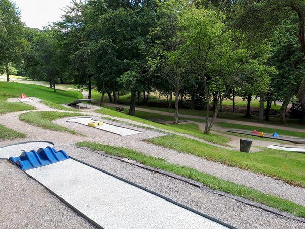 Minigolf im Kurpark Oberhundem