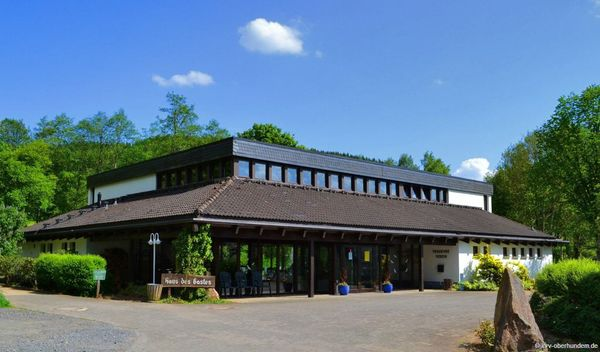 "Naturpark-Infozentrum ""Feuer & Wasser"" - Station Oberhundem"