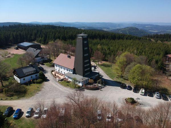 Luftaufnahme Rhein-Weser-Turm