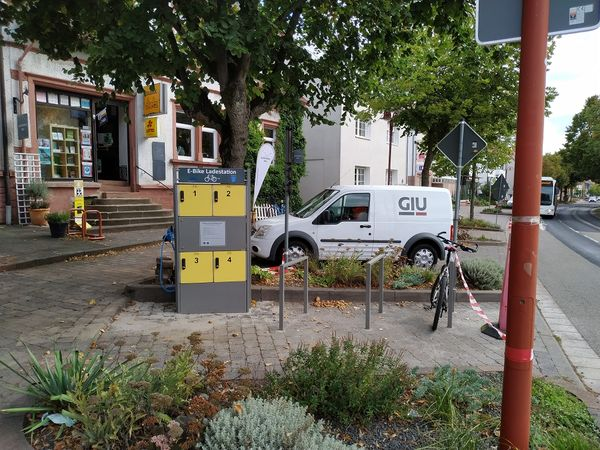 E-Bike Ladestation Limbach Dorfmitte