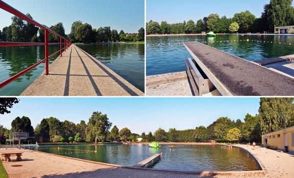 Großes Schwimmer- und Nichtschwimmerbecken, Naturfreibad Kirkel