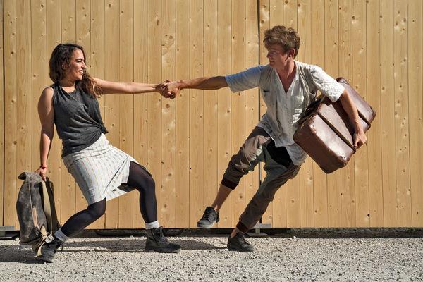 Kleines Theater Auersmacher, Stück: Der Junge mit dem Koffer