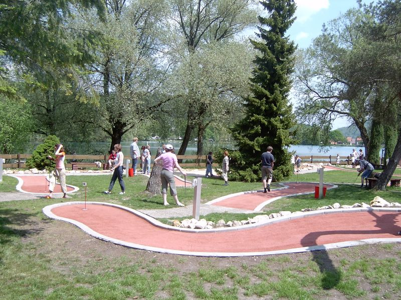 Minigolf am Itzelberger See