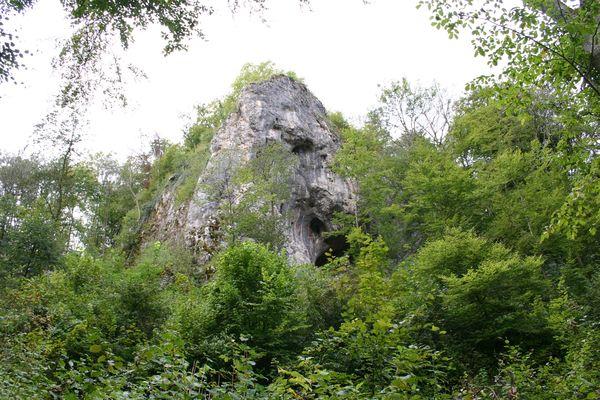Ruine Herwartstein bei Königsbronn