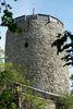 Burgturm der Burgruine Kollnburg im Bayerischen Wald