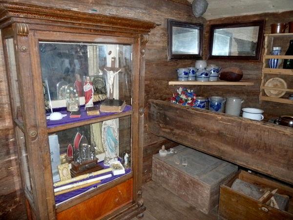 Bauernstube im historischen Landwirtschafts- und Handwerksgerätemuseum in Münchshöfen