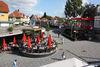 der Berndorfer-Tor-Platz in der Fußgängerzone Korbach