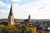 Stadtpanorama mit Nikolaikirche und Kilianskirche
