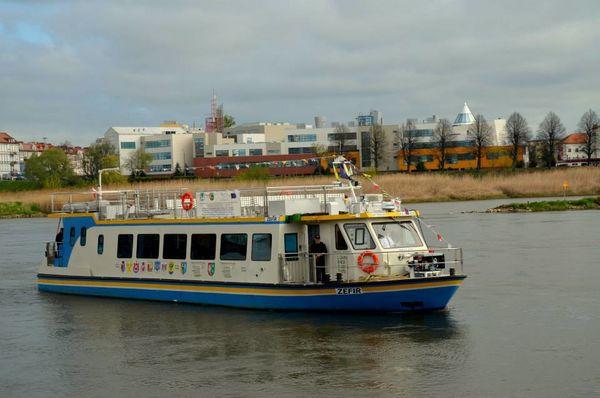 Oder- Flußschiff