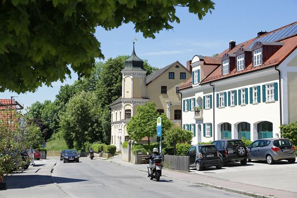 Dorfstraße in Kranzberg