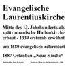 Infotafel an der Laurentiuskirche (Katrin Stein)