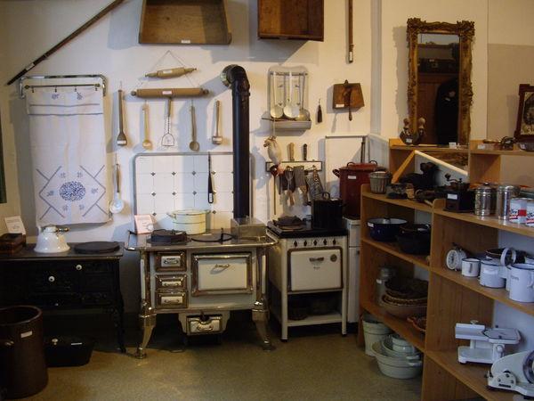 Historische Küche im Heimatmuseum Ferndorf (Foto: Katrin Stein)