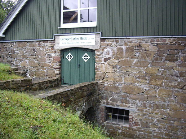 Magazin der Loher Hütte (Foto: Dr. Andreas Bingener)