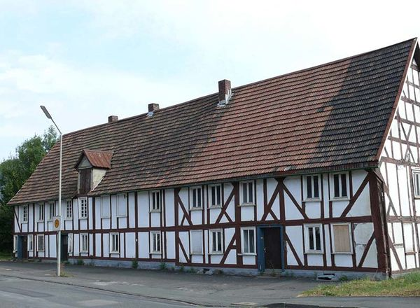 ehemaiges Hüttenmeisterhaus - Altlohe 2-6 (Foto: Dr. Andreas Bingener)