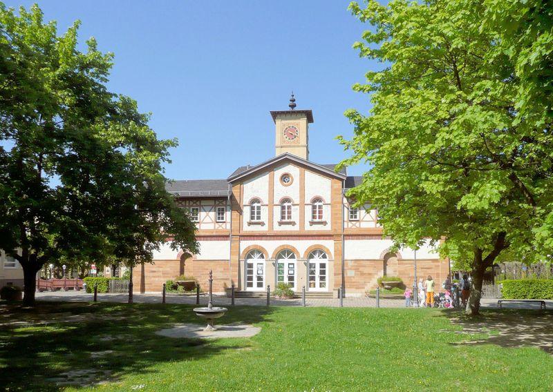 Arbeitersiedlung in Kuchen, Neckarstr. 68, neuer Kindergarten, früher Badehaus
