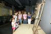Kindergruppe im Museum Quintana - Archäologie in Künzing