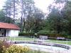 Kneipp-Anlage und Gerätehäuschen mit Toiletten in Lalling im Bayerischen Wald