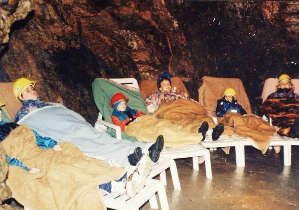 Therapie im Besucherbergwerk Fürstenzeche in Lam