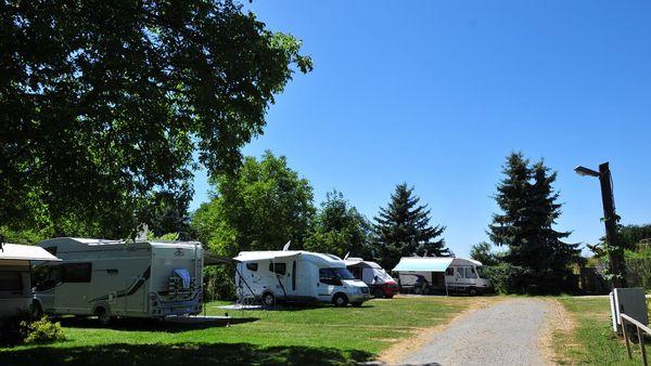 Campen im Lamer Winkel am Fuße des Ossers
