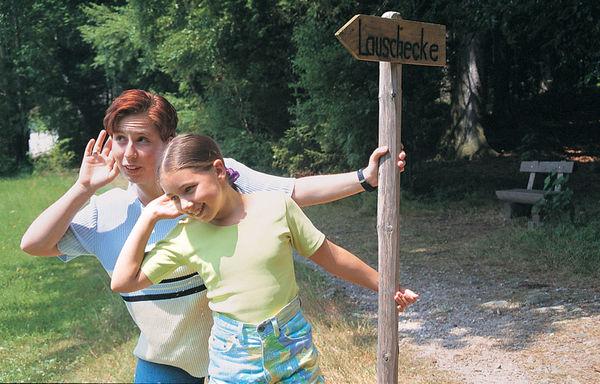 Die Lauschstrecke am Holzweg