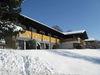 Winterstimmung beim Hotel Haus am Berg im Lamer Winkel