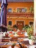 Terrasse im Wander- und Aktivhotel Rösslwirt in Lam