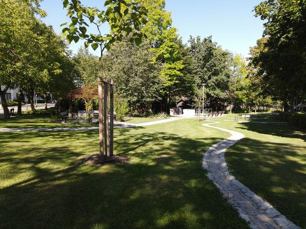 Der Mehrgenerationenpark in Landau a.d. Isar