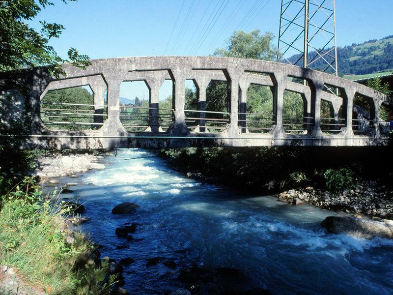 Dalvazza Brücke bei Küblis