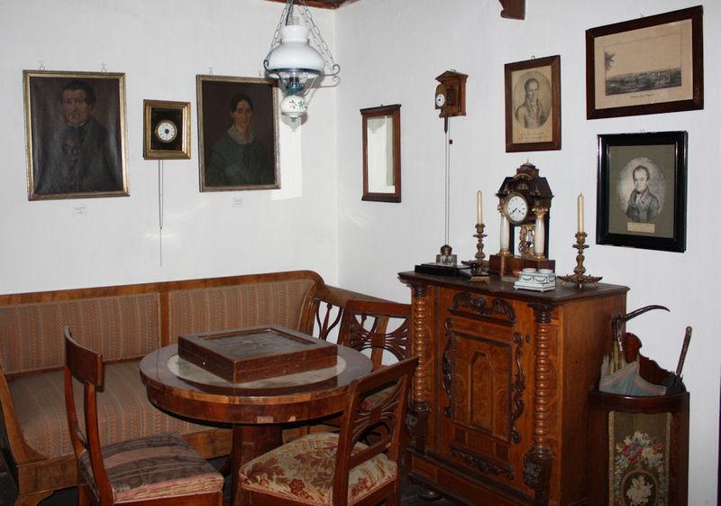 Bürgerliche Stube im Museum in Langenau