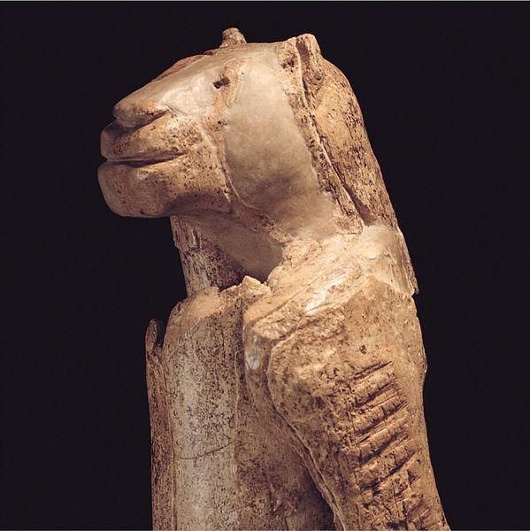 Löwenmensch - ausgestellt im Ulmer Museum