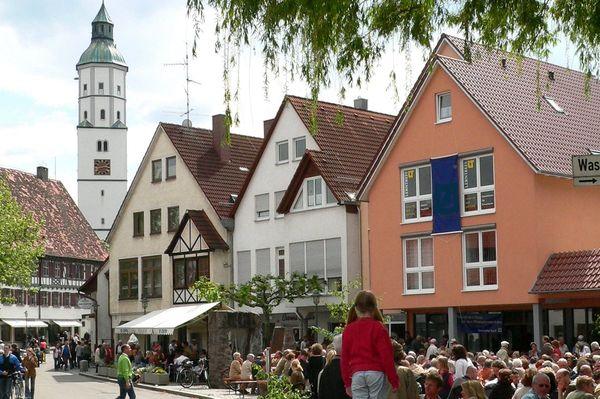 Lohplatz in Langenau