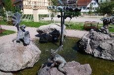 Bachdatscherle-Brunnen