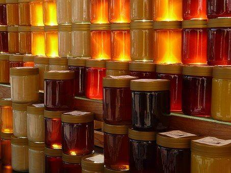 Bienen-Cordes Naturprodukte - Honiggläser