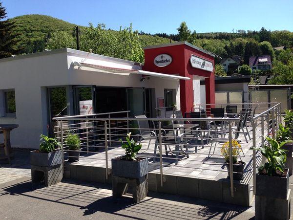 "E-Bike Akku-Ladestation Grillrestaurant ""Zur Brücke"""