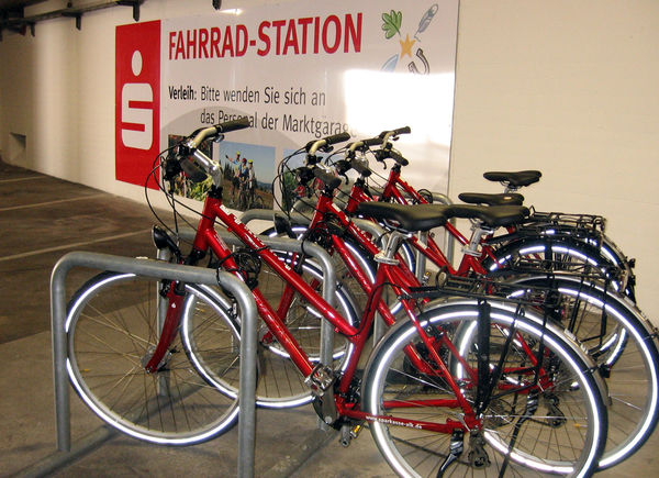E-Bike-Verleihstation Bahnhof Altenhundem