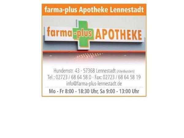 Farma Plus Apotheke - Visitenkarte
