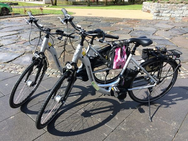 E-Bike Verleihstation Touristinformation Saalhausen