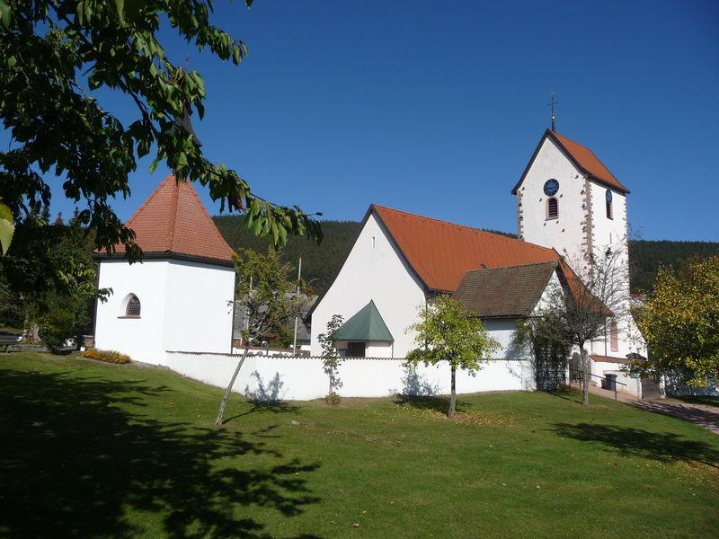 Pfarrkiche Saig und ihre Kapellen