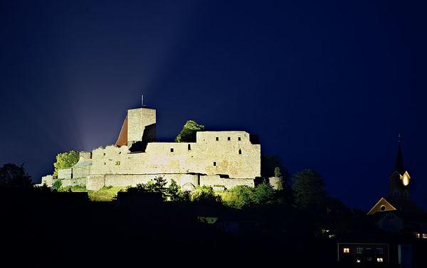 Die Burg Leuchtenberg im Oberpfälzer Wald